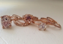 Rose gold collection!