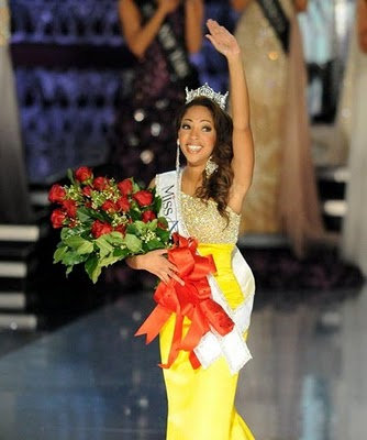 First up - Miss America 2010 Caressa Cameron (whose been wearing a 9mm