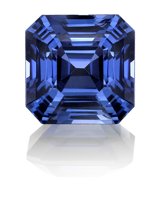 asscher cut wanelo sets kasmir blue sapphire on ring engagement shop cultured