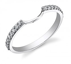 Timeless Halo Diamond Wedding Band