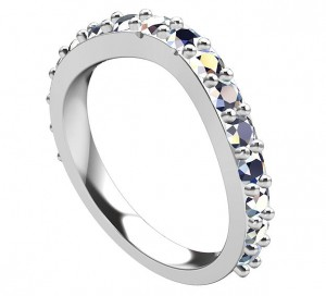 Extravaganza Matching Band (note the notches to lock in against the optional Halo ring)