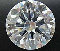 5.24ct H&A cut, D VVS1 - HPHT enhanced Diamond