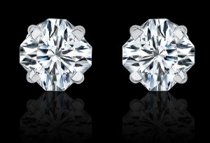 Asha Fake Diamonds, Flanders Stud earrings