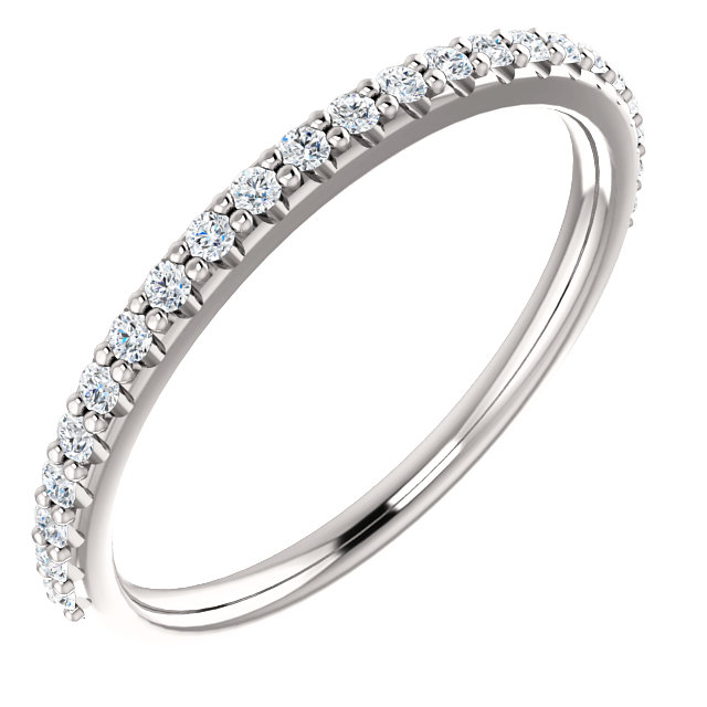 matching band for Cuileann micropave halo ring
