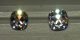 Diamond AVC (L Color) on left, Amora Gem AVC (G color) on right.  Spotlighting.  Screenshot from Jonathan's video review.