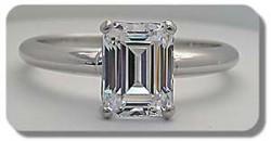Emerald Tiffany Ring
