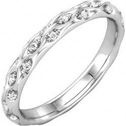 Ripple Effect Eternity Band