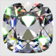 Computer render of Amora Gem AVC faceting.