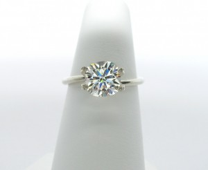 7mm cushion cut Phoenix Moissanite