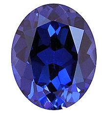 Kashmir Blue Lab Sapphire: Oval Cut