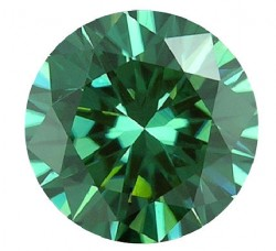 Amora Green Moissanite