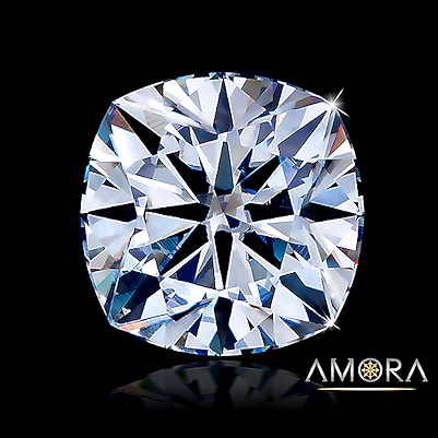 Amora Gem H&A cushion cut