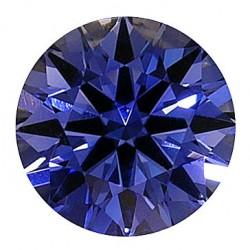 Avarra H&A Round lab sapphire - Light Ceylon Blue