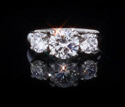 Timeless Trillium Ring