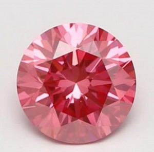 Takara pink lab diamond - studio photo