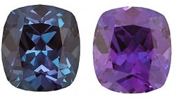 Lab Grown Alexandrite, Cushion Cut