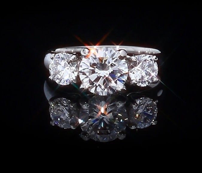 Timeless Trillium Ring Betterthandiamond Com