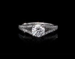 Timeless Duality Micropave Ring