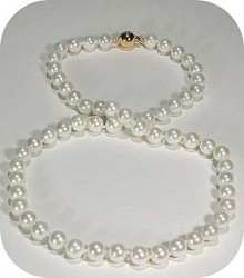 South Sea White Pearl Necklaces