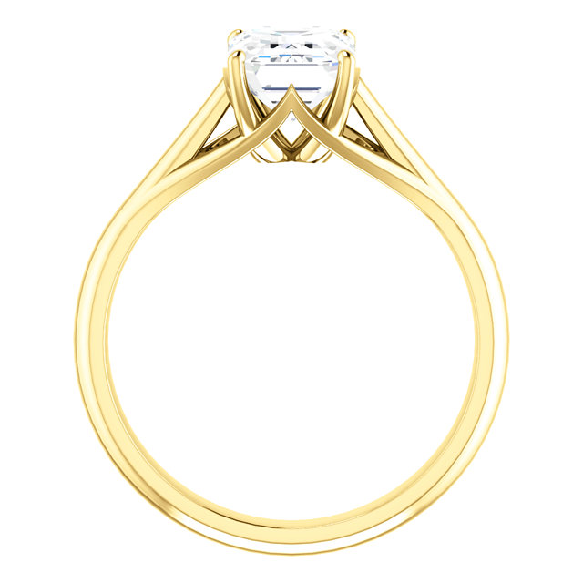Feabhraíd Trellis Cathedral Solitaire Ring