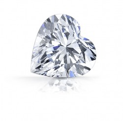 Asha Heart Simulated Diamond
