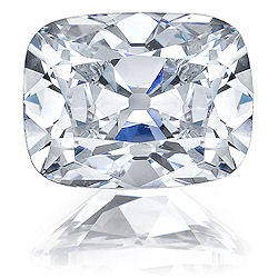Asha Antique Cushion cut