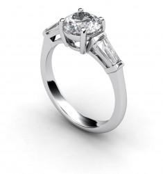Timeless Serenity Baguette Ring