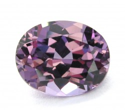 Purple-Pink Sapphire Oval Cut