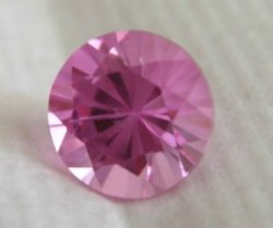 Customer photo of an 8mm Pink Avarra Sapphire
