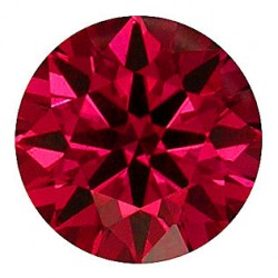 Avarra H&A Round lab Ruby - Blood Red
